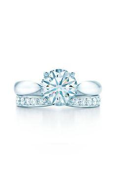 AtlasR Open Rings From Left 18k White Gold With Diamonds And 18k Rose Gold With Diamonds