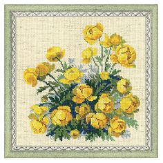 Buttercups Counted Cross Stitch Kit - Cross Stitch, Needlepoint, Embroidery Kits – Tools and Supplies
