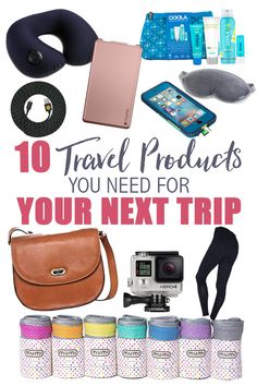 10 Travel Products You Need for Your Next Trip • The Blonde Abroad