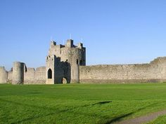 Trim Castle, County Meath. Trim Castle is an Anglo-Norman castle constructed by Hugh de Lacy and his son Walter.