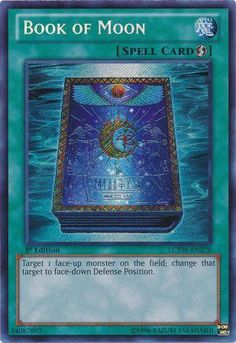 Book of Moon - LCYW-EN270 - Secret Rare yugioh card