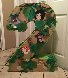 The Jungle Book Pinata 4/16  Instagram: @Flowerviletcrafts