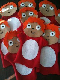 You should make me a ponyo puppet for christmas