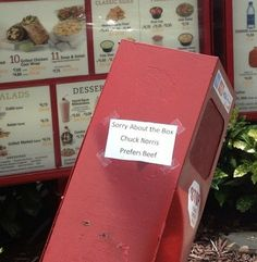 Who knew Chuck Norris felt so strongly about Chick-fil-A?