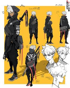 Game Character Design, Character Design Animation, Character Design References, Fantasy Character Design, Character Drawing, Character Design Inspiration, Character Illustration, Character Concept, Cyberpunk Character
