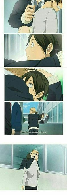 I LOVE IT AHHHH AO HARU RIDE AAAHHHH HAIKYUU CROSSOVER AHHHHHHH IM CRYINNNG