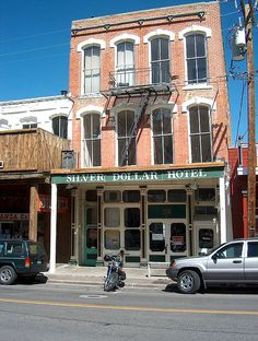 Had lunch at the Silver Dollar Hotel in Virginia City, Nevada.
