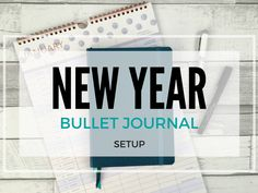 New Year, New Start! I've been prepping my bullet journal for 2017...
