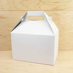 White Gable Box | 1ct- could use to decorate for valentine mail boxes