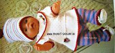 Projekt Saseline ~ Det er midt i april 2020 Doll Toys, Dolls, Baby Born, Stuffed Toys Patterns, Knitting, Jazz, Design, Fashion, Tunic