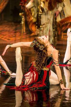 Operafantomet: phantoming, Kara Klein as Meg Giry, POTO Broadway. Photo by...