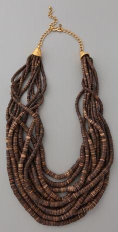 Natural Dark Coconut Wood Heishi Beads