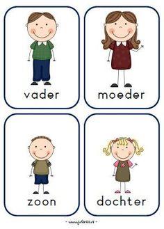 rollenkaarten spel kleuters huishoek Learn Dutch, Learn German, Airplane Kids, Dutch Language, Family Theme, Hygiene, Dramatic Play, Primary School, Kids And Parenting