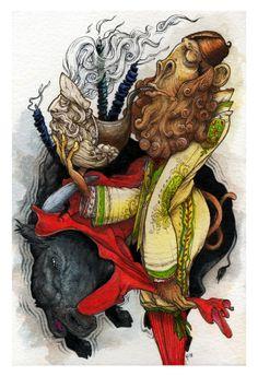 The Meerschaum Matador by HABBENINK, via Behance