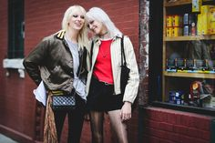 The Most Authentically Inspiring Street Style From New York #refinery29  http://www.refinery29.com/2015/09/93788/ny-fashion-week-spring-2016-street-style-pictures#slide-76  Blonde ambition....
