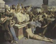 Resultado de imagen para la destruccion de pompeya y herculano pintura