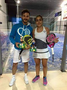 Felicidades a este parejon @rafa_gmn @albaincreible por su última victoria #Córdoba #padel #pro #weekend #wpt #ilovepadel #ilp #felicidades #visitanuestraweb #vamosallenartododecorazones