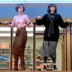 when i see myself dancing now, all i see is molly ringwald in the breakfast club. totally unintentional.