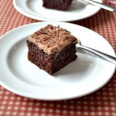Devil's Food cake by spicytreatskitchen