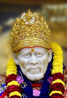 """One of his most famed sayings was """"God is the Owner of us All"""". Take a look at most stunning Shirdi Sai Baba Images in HD here. Sai Baba Hd Wallpaper, Shiva Wallpaper, Mobile Wallpaper, Sai Baba Pictures, God Pictures, Shirdi Sai Baba Wallpapers, Sai Baba Quotes, Swami Samarth, Sathya Sai Baba"""