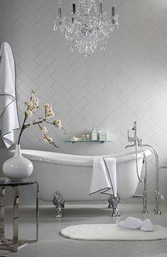 Elegant Bathroom...so simple yet Beautiful