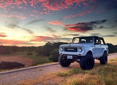 ▒ end of a great day ▒ international scout 800 ▒