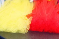 QUICK and EASY Tutus! This woman's blog is full of DIY tips. I'm sure the girls would love to make their own tutus!