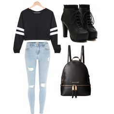 Untitled #13 by madison-lauterbur on Polyvore featuring polyvore, fashion, style, River Island and MICHAEL Michael Kors
