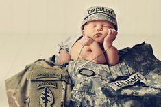 Military Newborn Photography