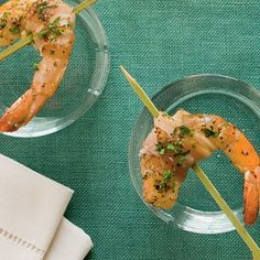 Peppered Pancetta-Wrapped Shrimp | Coastalliving.com