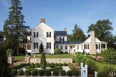 Elizabeth Locke's Federal-Style Virginia Farmhouse : Architectural Digest