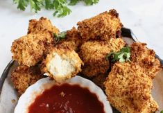 Crispy Air Fryer Tofu Nuggets Recipe • Veggie Society