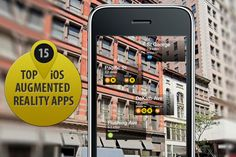 Top 15 Augmented Reality apps for iPhone & iPad. Which one you like most?