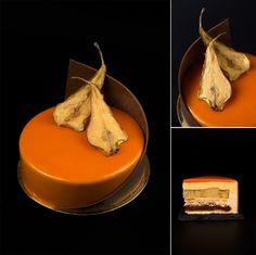 Nina Tarasova - The ChefsTalk Project -Pear-caramel entremet
