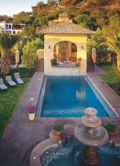 A Picture Of Our Casa Cariño Pool House In San Miguel De Allende, Mexico.