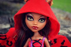 monster high images clawdeen | Monster High Clawdeen Little Dead Riding Wolf A Monster High Story ...