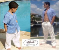 26e025e2 8 Best Father and Son Matching Linen Shirts Www.abyskids.com images ...