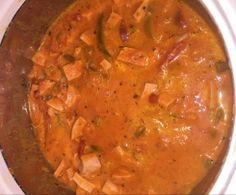 Paprika - Fleischwurst-Topf