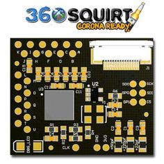 Squirt 360 1.3 Micro, a #coolrunner /  #glitcher #modchip tool for Xbox 360 game consoles. More info http://shop01media.com/brand.asp?ID=1186