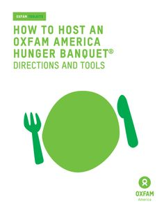 Oxfam America Hunger Banquet | ACT FAST with Oxfam