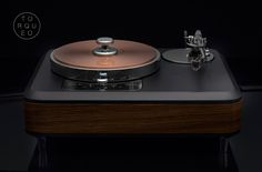 Torqueo Zebrano turntable
