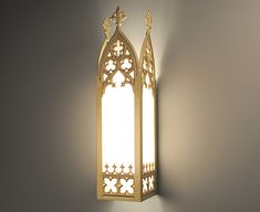 Manning Lighting French Gothic Sconce LBI-334