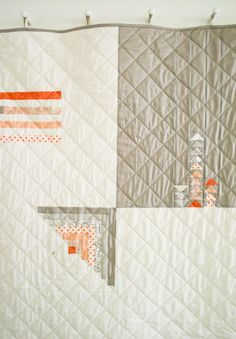 Simple Four Square Quilt | The Purl Bee