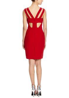 NICOLE MILLER Baye Cutout Back Dream Dress | ideel