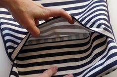 How to Make a Pillow - Envelope Back