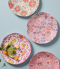 Explore Side, Dessert & Canape Plates at Anthropologie, from everyday classics to one-of-a-kind styles. Dinner Plate Sets, Dinner Sets, Dinner Plates, Teller Set, Boho Kitchen, Carnival Glass, Ceramic Art, Kitchenware, Dinnerware