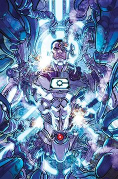 Cyborg is thrown into conflict with every robotic threat to the DC Universe! CYBORG #1, available 9/21!