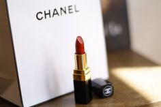 COCO CHANEL / ROUGE LIPSTICK / GABRIELLE 19 - the best red lipstick!