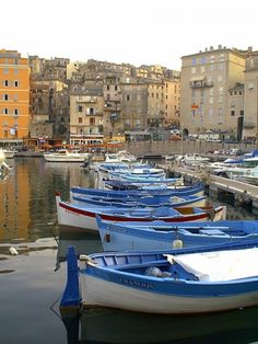 Boten uit de oude haven van Bastia, William Bietry - My Bilder Corsica, Oh The Places You'll Go, Places To Visit, Row Row Your Boat, Blue Boat, Provence, Ville France, Old Port, Beach Town