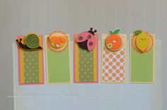 craft fair magnetic bookmarks 4 x 2 (folded in half) using magnetic business cards